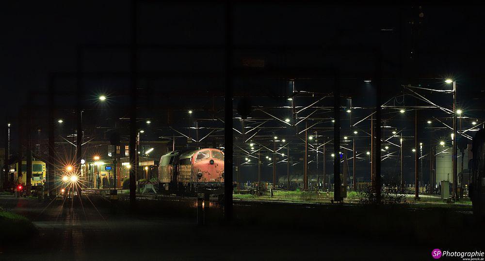 Bahnanlage in Dänemark