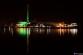 Flensburger Hafen mit Werft und Stadtwerke
